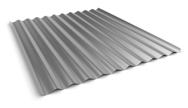 Corrugated stainless steel
